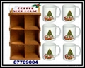 木製聖誕咖啡杯屋架 3