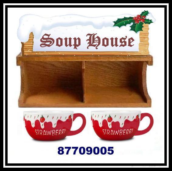 木製聖誕咖啡杯屋架 4