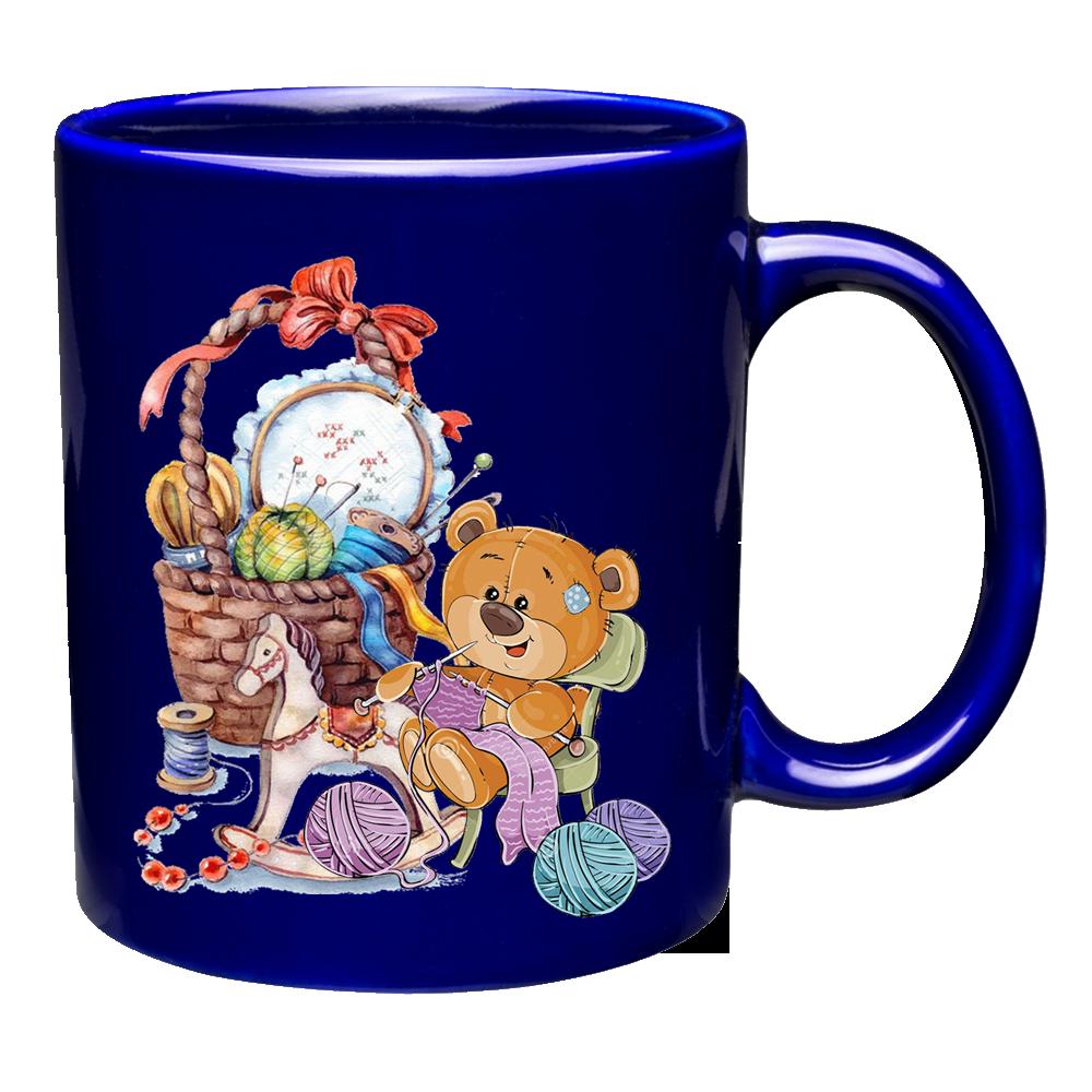 陶瓷馬克杯及陶瓷杯墊掛架組 2