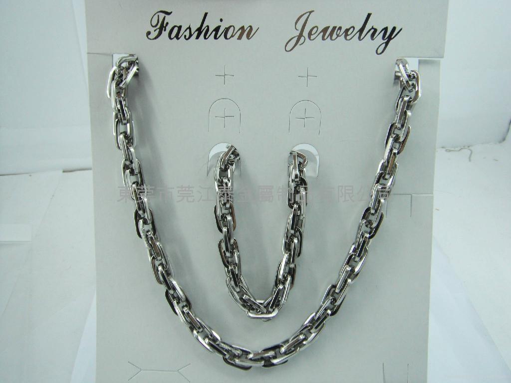 不锈钢项链套装饰品 1