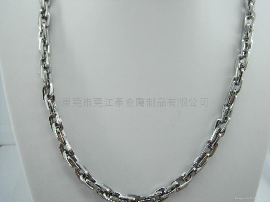 不锈钢项链套装饰品 2