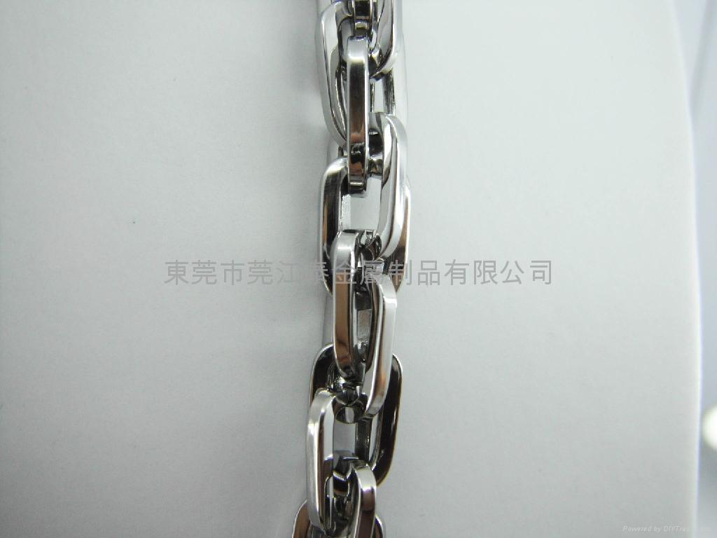 不锈钢项链套装饰品 3