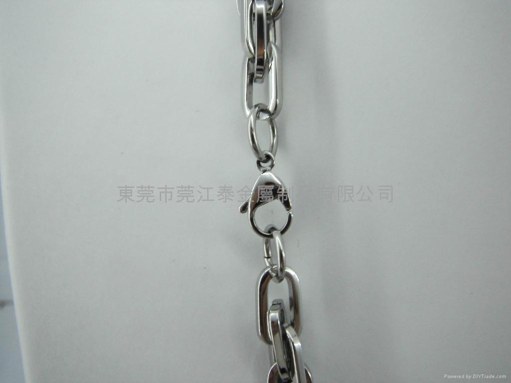 不锈钢项链套装饰品 4