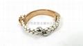 Rose gold Crown Bracelet 2
