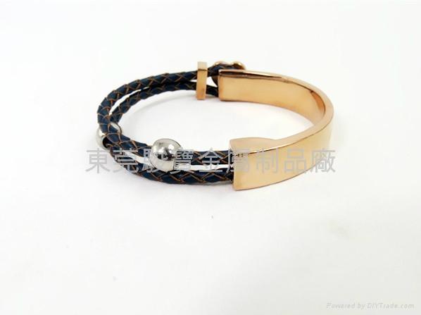 Rose gold Crown Bracelet 4