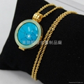 Fashion Gold stainless steel pendant and