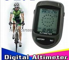 自行車車載電子高度計
