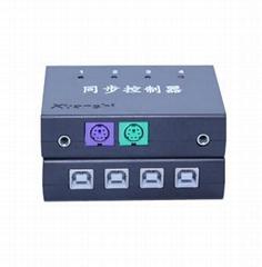 键盘鼠标同步控制器