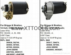 Electric Starter for Lawnmower