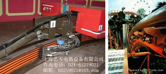 松下指定经销商上海艺岑电器供应拉布机专用供电电轨快递分拣 3