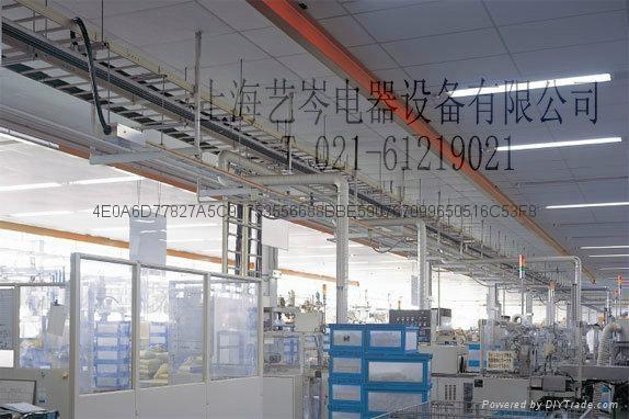 松下指定经销商上海艺岑电器供应拉布机专用供电电轨快递分拣 2