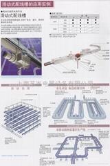 SHANGHAI YICEN销售日本Panasonic松下供电导轨滑触线碳刷
