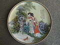 fine bone china plate by hand-painting