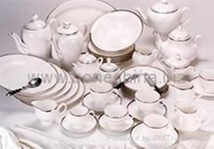 118头骨质瓷西餐具