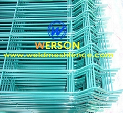 galvanized and pvc coated weld mesh fence panel -general mesh