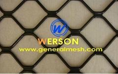 generalmesh Aluminum Amplimesh grille,security widnow grille