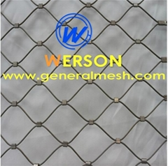 Animal rope mesh,Bird net mesh,aviary rope mesh ,cable net