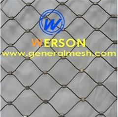 Animal rope mesh,Bird net mesh,aviary rope mesh ,cable net
