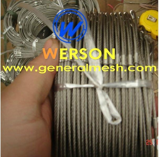 Animal rope mesh