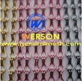 aluminium chain curtains ,aluminium fly screen,metal chain curtain,Anodizing Aluminum Chain Fly Screen