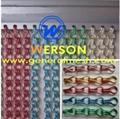 decorative aluminium chain curtain screen,Aluminium chain link curtain