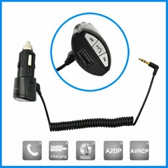 High Quality Rearview Mirror Car Kit Bluetooth For Iphone