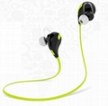 Wireless Bluetooth HandFree Sport Stereo Headset Headphone for Smart Phone