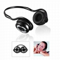 Bluetooth Stereo Headset with Back-hang Style