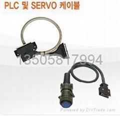 三菱PLC伺服触摸屏电缆