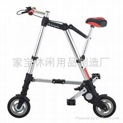 8寸A型折疊自行車