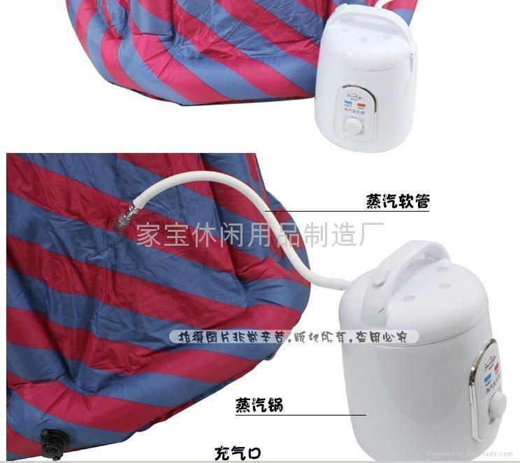 高品质蒸汽桑拿浴箱,排汗运动机,汗蒸房 4