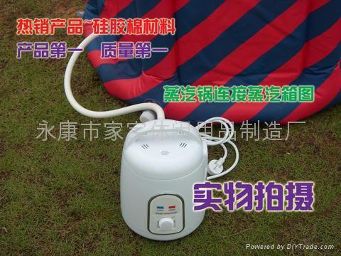 高品質蒸汽桑拿浴箱,排汗運動機,汗蒸房 3