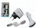 iPhone 3GS 4G  4GS 3 IN 1    Charger
