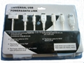 6 in 1 Universal USB POWER & DATA cable