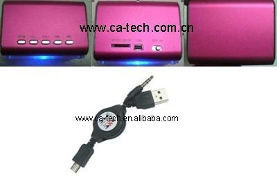 插卡小音響/U盤小音響/電腦小音響M/MP3或MP4小音箱 2