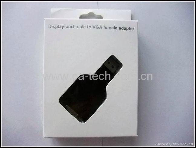 Display Port To VGA (F) 转接头 2