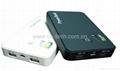 Dual USB Power Bank  5000mAh For iPad iPhone