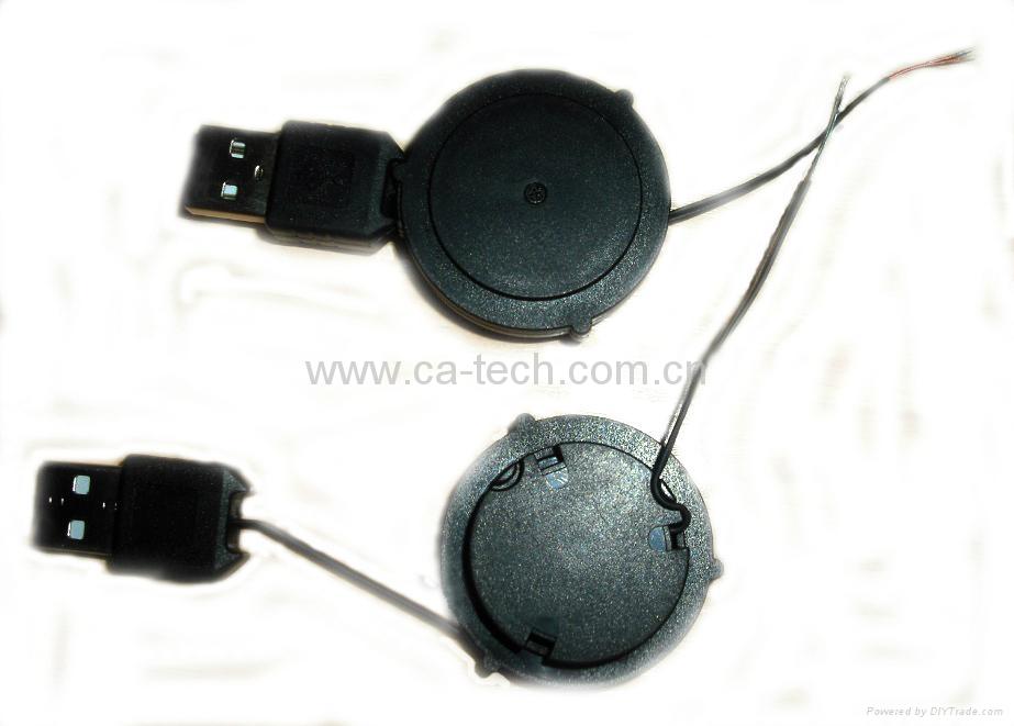 单拉USB伸缩线 2