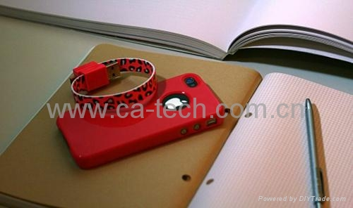 苹果彩色扁线,苹果彩色数据线,手机数据线 4