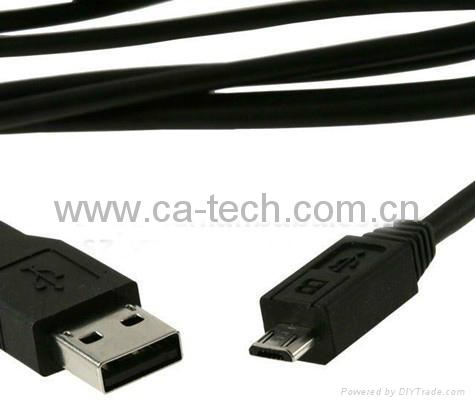 USB Micro 5P 手机数据线,数码相机数据线 3