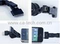 多功能三合一伸缩线数据线mini micro iphone伸缩线三合一 3