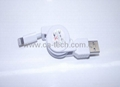 USB Lightning 8PIN Retractable Cable for iPhone