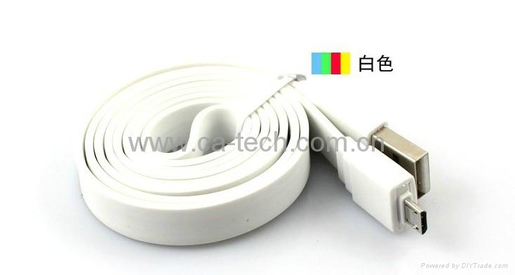 USB Micro Cable  HTC手机数据线  手机数据线 4