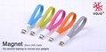 Flat Micro USB Cable and flexible micro cable For Samsung  Galaxy S III mobile