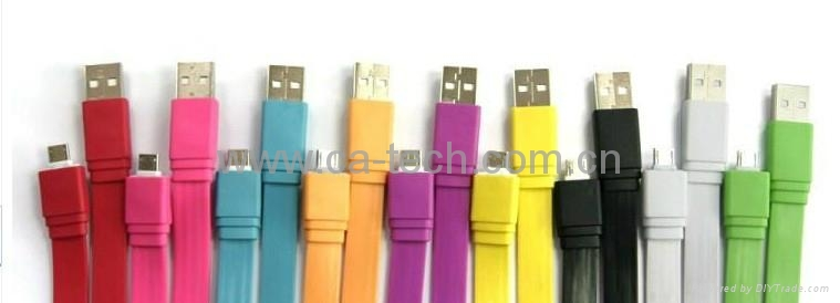 USB Micro Cable  HTC手机数据线  手机数据线 3
