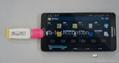 三星小米安卓机通用.Micro USB OTG转接头 U盘转接头OTG彩色 5