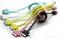 iPhone Samsung USB Data/Charging Cable 3 IN 1 Cable