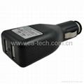 5V 2.1A iPad iPhone 手机车充充电器   2
