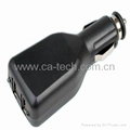 5V 2.1A iPad iPhone 手机车充充电器   3