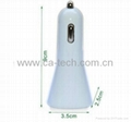Dual USB 5V 3.1A  Car Charger For iPhone4 5 iPad  5